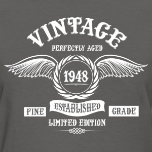 Vintage Perfectly Aged 1948 T-Shirts - Women's T-Shirt