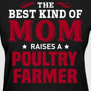 Poultry Farmer MOM - Women's T-Shirt