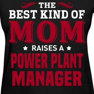 Power Plant Manager MOM - Women's T-Shirt