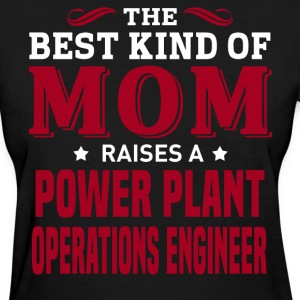 Power Plant Operations Engineer MOM - Women's T-Shirt