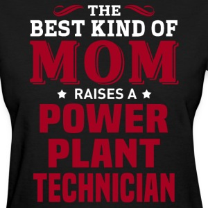 Power Plant Technician MOM - Women's T-Shirt