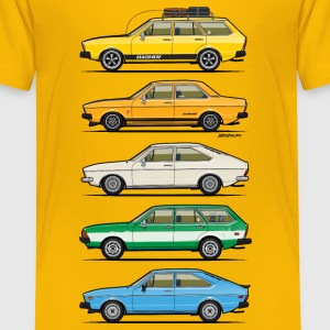 Stack of VAG B1 VDubs and Four Rings Baby & Toddler Shirts - Toddler Premium T-Shirt