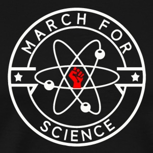 March For Science White - Men's Premium T-Shirt