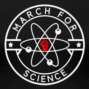 March For Science White - Women's Premium T-Shirt