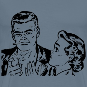 Retro couple - Men's Premium T-Shirt