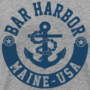 Bar Harbor Maine USA T-Shirts - Men's Premium T-Shirt