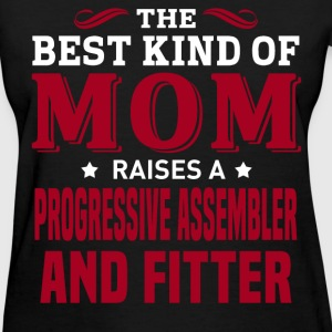 Progressive Assembler And Fitter MOM - Women's T-Shirt
