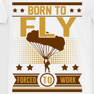 FLY 1291021.png T-Shirts - Men's Premium T-Shirt