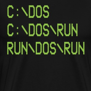 RUN/DOS/RUN T-Shirts - Men's Premium T-Shirt