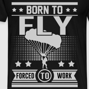 FLY 1290921.png T-Shirts - Men's Premium T-Shirt