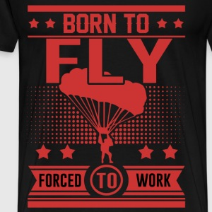 FLY 128918212.png T-Shirts - Men's Premium T-Shirt