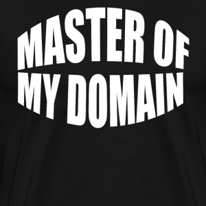 Master Of My Domain - Seinfeld T-Shirts - Men's Premium T-Shirt