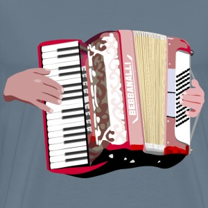 Accordion Player - Men's Premium T-Shirt
