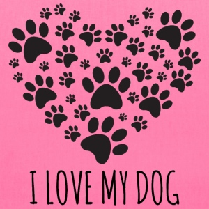 Love My Dog Bags & backpacks - Tote Bag