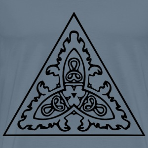 Triangular ornament 19 - Men's Premium T-Shirt