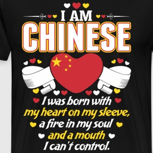 I Am Chinese T-Shirts - Men's Premium T-Shirt