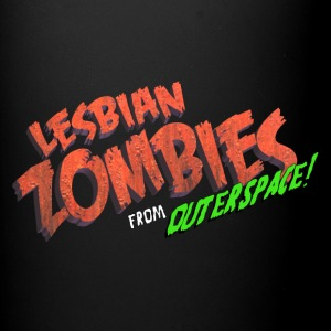 Lesbian Zombies from Outer Space logo mug - Full Color Mug