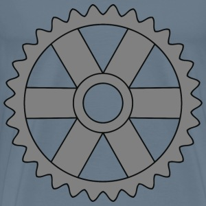 30tooth gear with rectangular spokes - Men's Premium T-Shirt