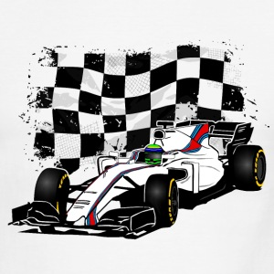 Formula One - Formula 1 - Racing Flag T-Shirts - Men's Ringer T-Shirt