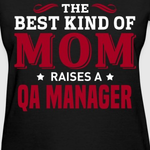 QA Manager MOM - Women's T-Shirt