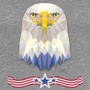 USA Eagle with Banner T-Shirts - Women's Premium T-Shirt
