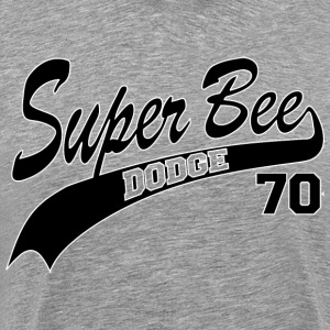 70 Super Bee - White Outline - Men's Premium T-Shirt