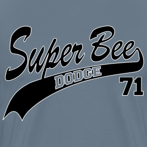 71 Super Bee - White Outline - Men's Premium T-Shirt