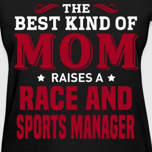 Race and Sports Manager MOM - Women's T-Shirt