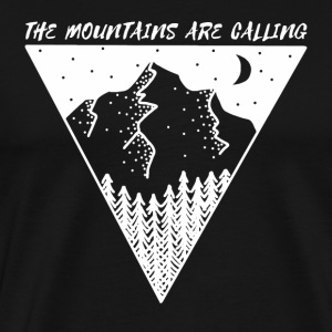 mountains are calling - Men's Premium T-Shirt