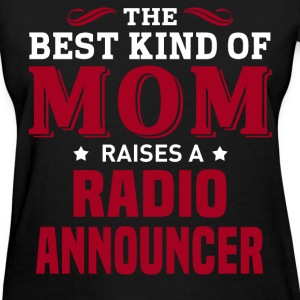 Radio Announcer MOM - Women's T-Shirt