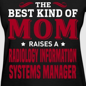 Radiology Information Systems Manager MOM - Women's T-Shirt
