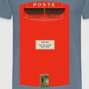 Public Italian postbox - Men's Premium T-Shirt