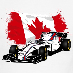 Formula One - Formula 1 - Canada Flag T-Shirts - Men's Ringer T-Shirt