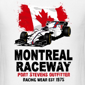 Formula One - Formula 1 - Canada Flag T-Shirts - Men's T-Shirt
