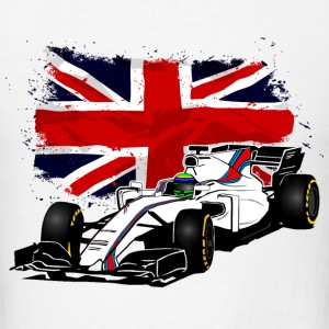 Formula One - Formula 1 - UK Flag T-Shirts - Men's T-Shirt