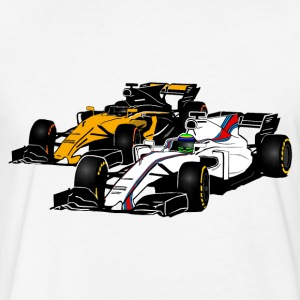Formula One - Formula 1 - racer T-Shirts - Fitted Cotton/Poly T-Shirt by Next Level
