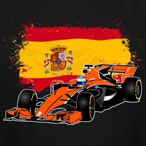 Formula One - Formula 1 - Spain Flag T-Shirts - Men's Tall T-Shirt