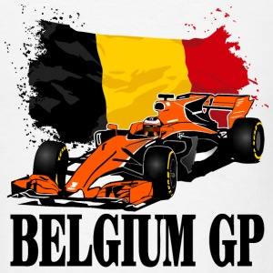 Formula One - Formula 1 - Belgium Flag T-Shirts - Men's T-Shirt