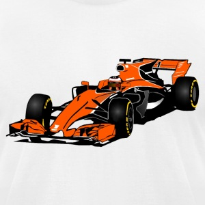 Formula One - Formula 1 - Racer T-Shirts - Men's T-Shirt by American Apparel