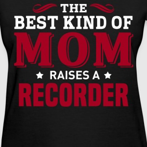 Recorder MOM - Women's T-Shirt