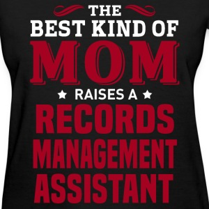 Records Management Assistant MOM - Women's T-Shirt