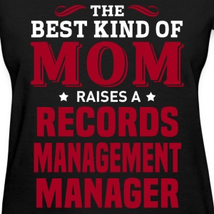 Records Management Manager MOM - Women's T-Shirt