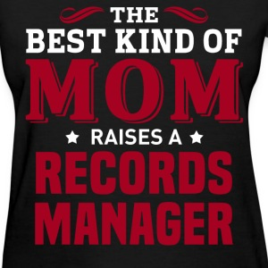 Records Manager MOM - Women's T-Shirt