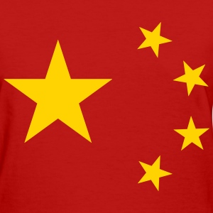 China Flag T-Shirts - Women's T-Shirt
