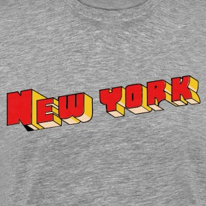 New York City T-Shirt - grey - Men's Premium T-Shirt