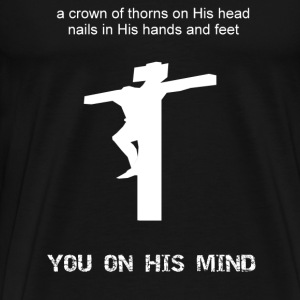 You on His mind - Men's Premium T-Shirt