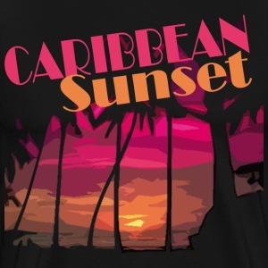 CARIBBEAN SUNSET - Men's Premium T-Shirt