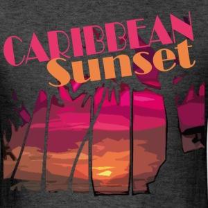 CARIBBEAN SUNSET - Men's T-Shirt