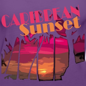 CARIBBEAN SUNSET - Women's Premium Tank Top