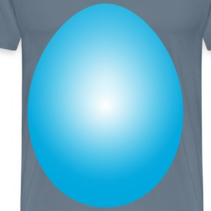 Cyan Easter Egg - Men's Premium T-Shirt